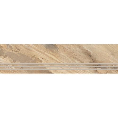 TREAPTA GRESIE FOSSIL NATURAL GRANDE 29.5X120