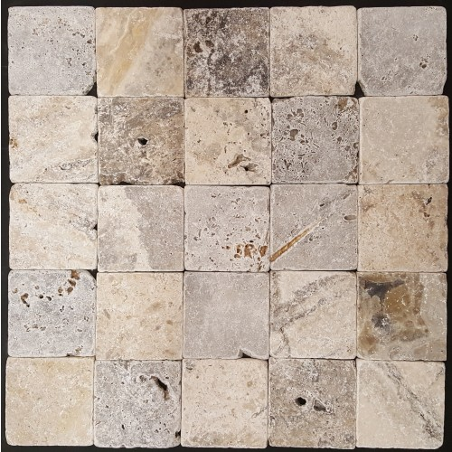 TRAVERTINE SILVER 10X10
