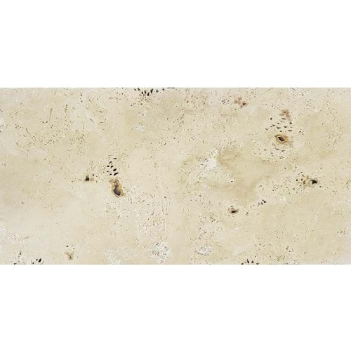 TRAVERTIN ANTIQUE BLEND TUMBLED 40.6X61X1.2 CM