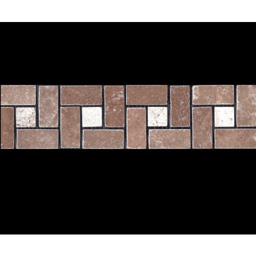 BORDER DIN TRAVERTIN NOCHE&CLASSIC AC1 7.5X30.5x1
